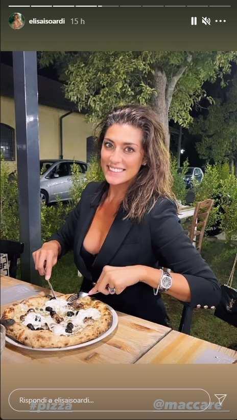 Elisa Isoardi - Instagram