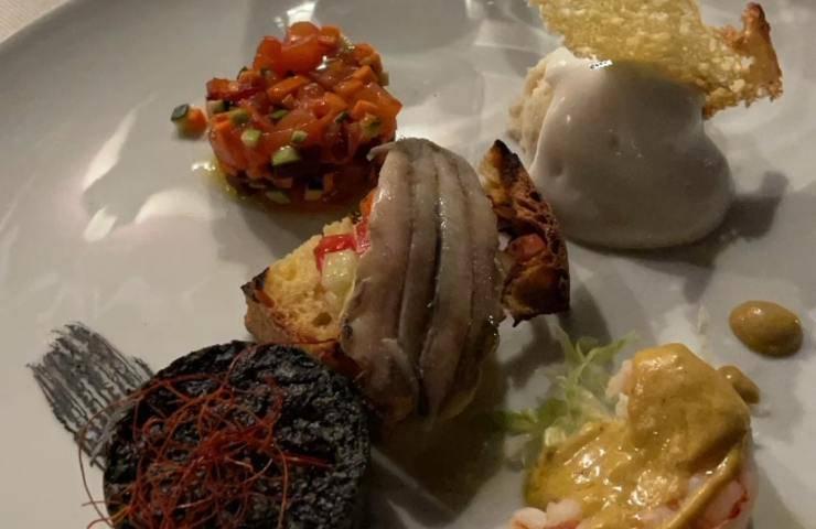 Il piatto di Matilde Brandi