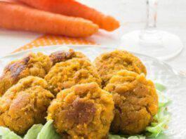 polpette di carote e tonno