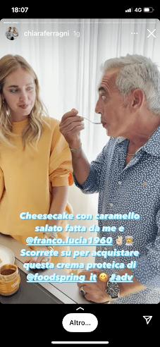 Chiara Ferragni e suocero