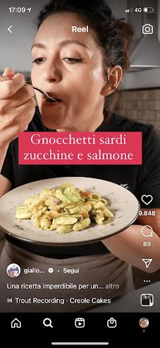 Giallo zafferano ricetta gnocchetti sardi
