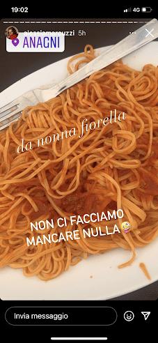 Pranzo Marcuzzi spaghetti fini fini