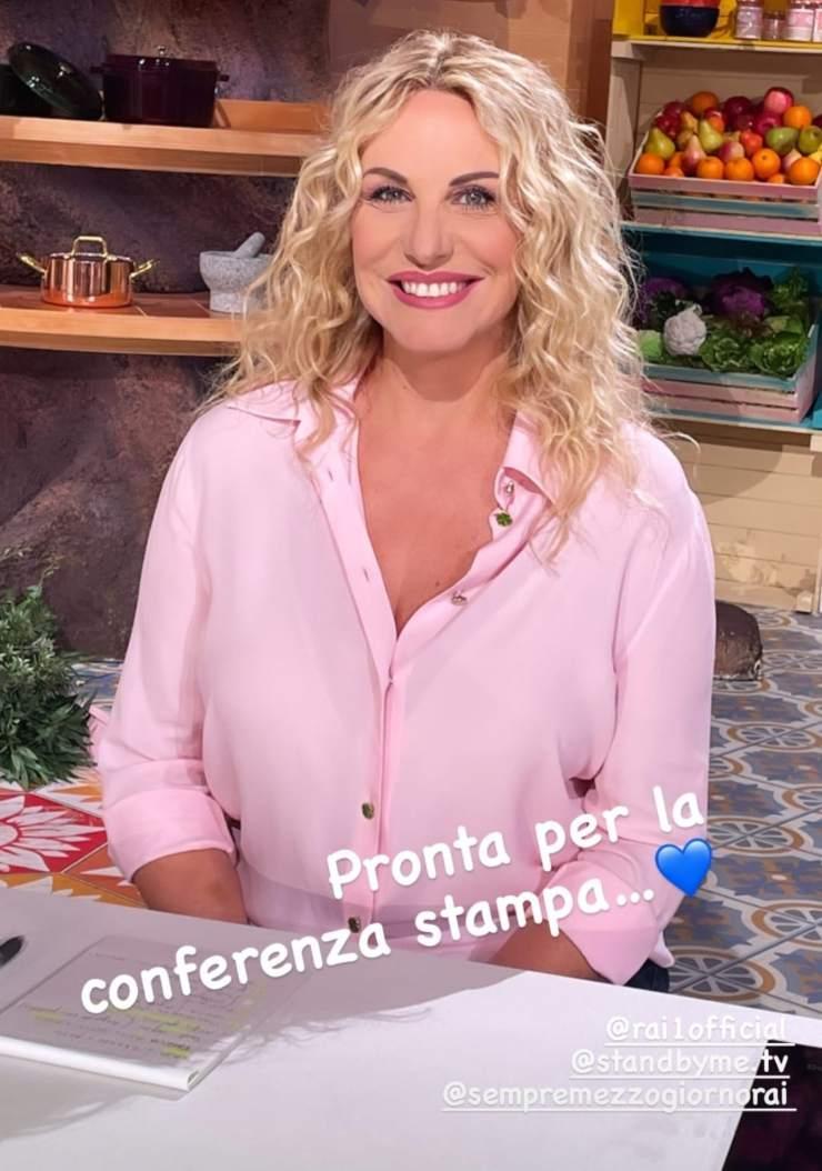 Antonella Clerici: la notizia che entusiasma i fan