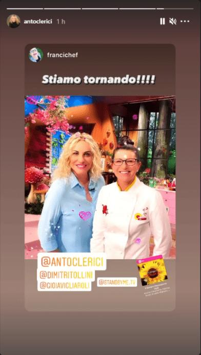 Antonella Clerici annuncio social davvero inaspettato foto