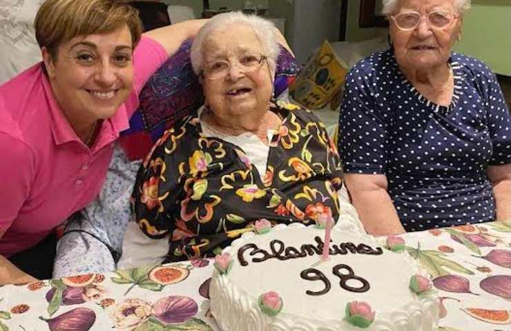 Benedetta Rossi e nonna