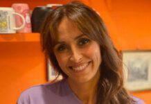 Benedetta Parodi sorride
