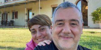 Benedetta Rossi e Marco Gentili sorridono