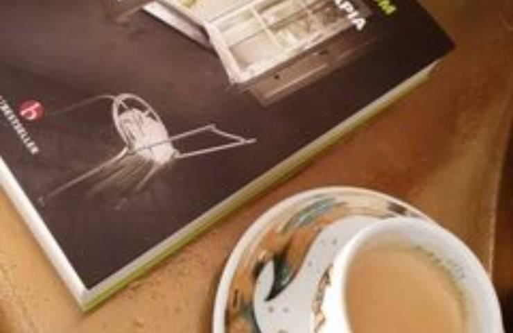 Caffè e libro Claudia Ruggeri