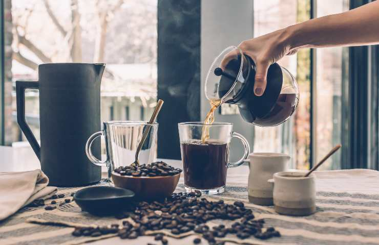 Caffè avanzato come riutilizzarlo dettagli