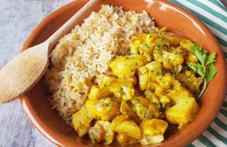Cavolfiore agrodolce riso basmati ricetta