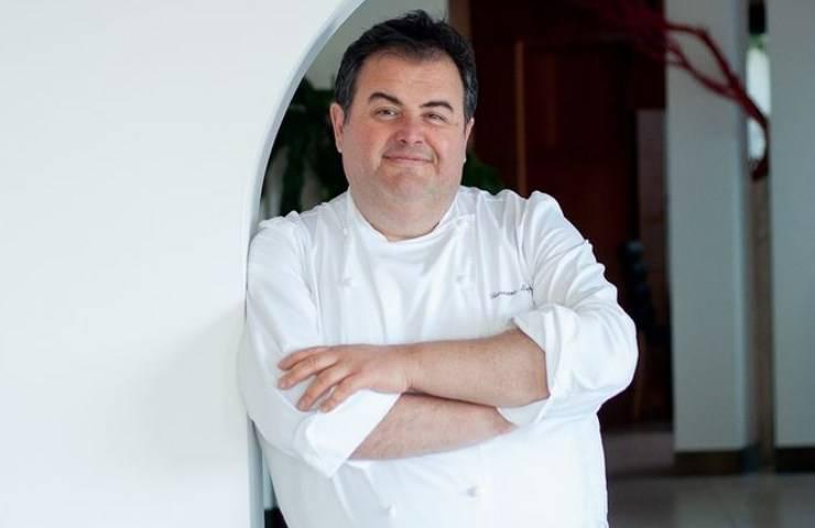 Chef Gennaro Esposito ricetta medusa dettagli