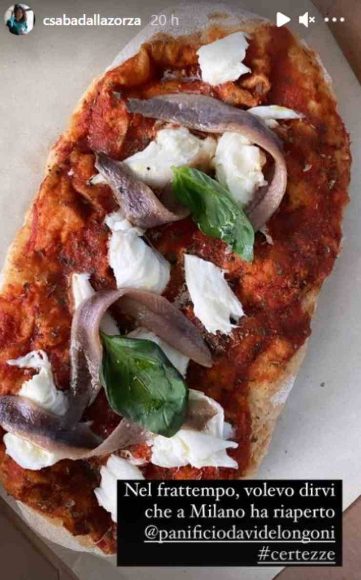 Csaba dalla Zorza pizza