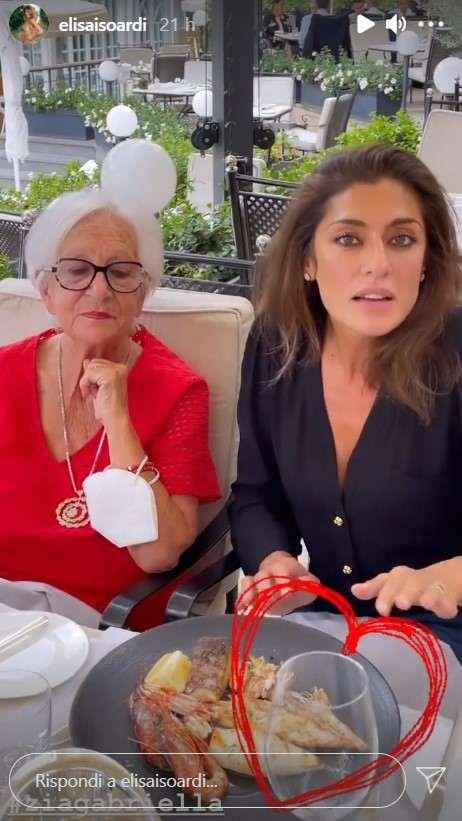 Elisa Isoardi e Gabriella