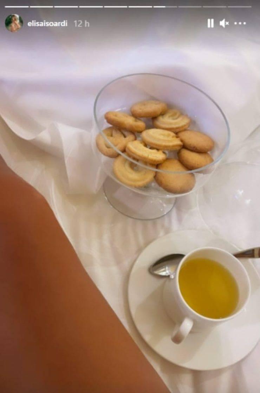 Elisa Isoardi colazione: la colazione più dolce