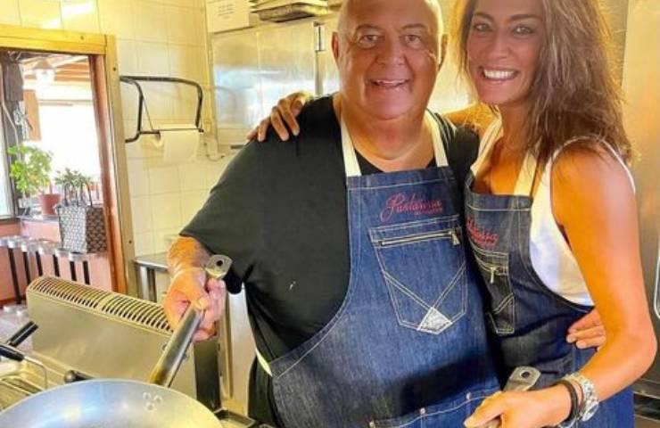 Elisa Isoardi in cucina