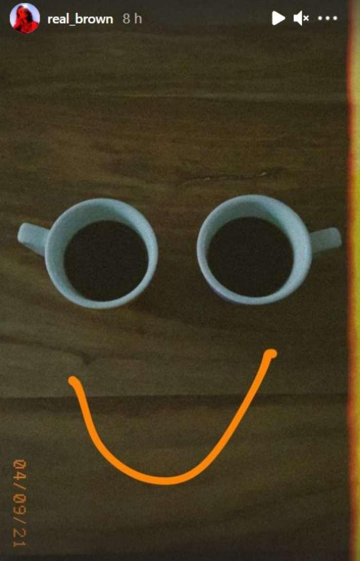 Emma Marrone caffè Instagram