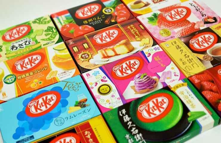 Kit Kat Giappone curiosità nome