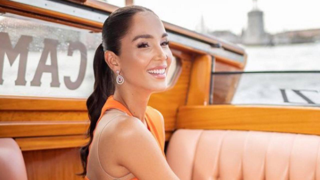 Paola Di Benedetto merenda preferita annuncio social foto