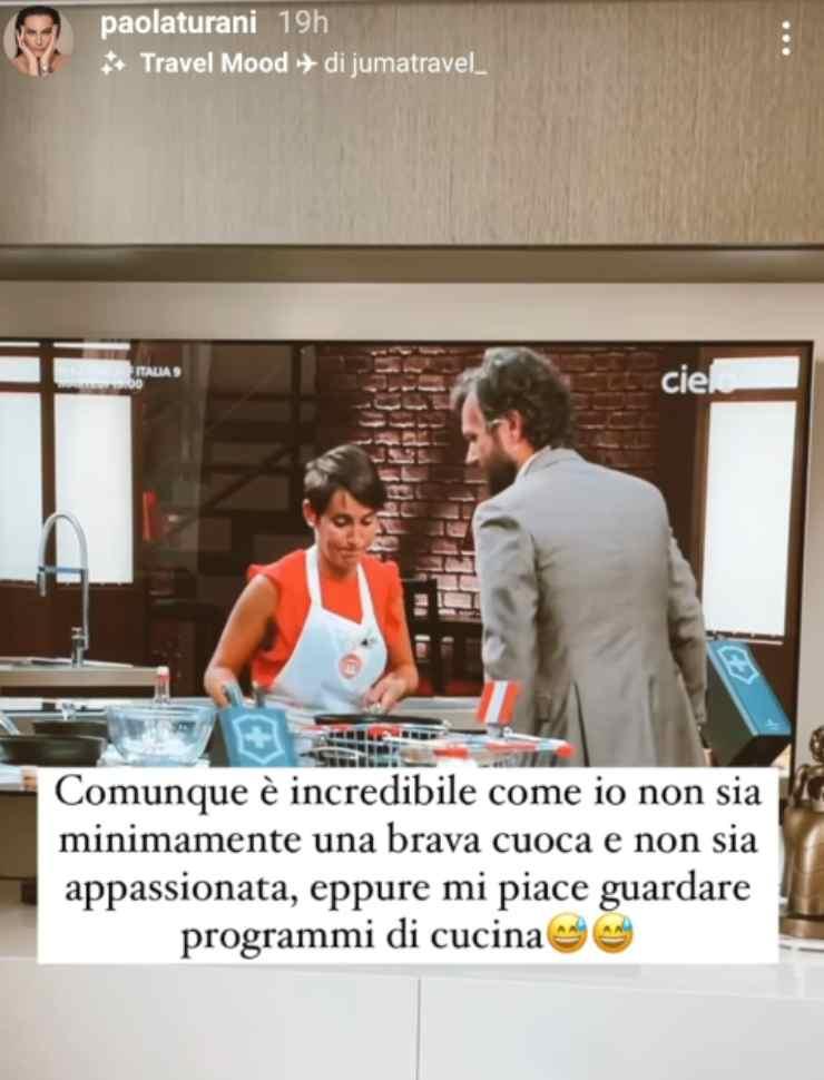 Paola Turani ha svelato una confessione inaspettata