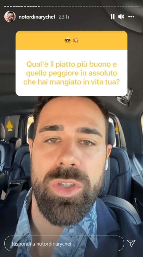 Roberto Valbuzzi coming out confessione choc gusti culinari