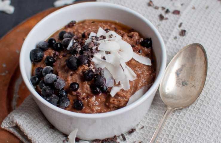 Porridge Kinder cereali ricetta veloce