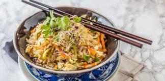 Riso fritto vegano Indonesia ricetta facile