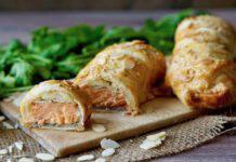 Salmone in crosta pasta fillo ricetta facile