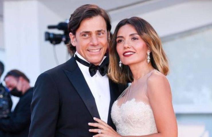 Serena Rossi e Davide Devenuto alla Mostra del Cinema di Venezia