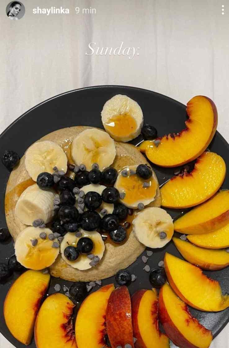 Shaila Gatta colazione