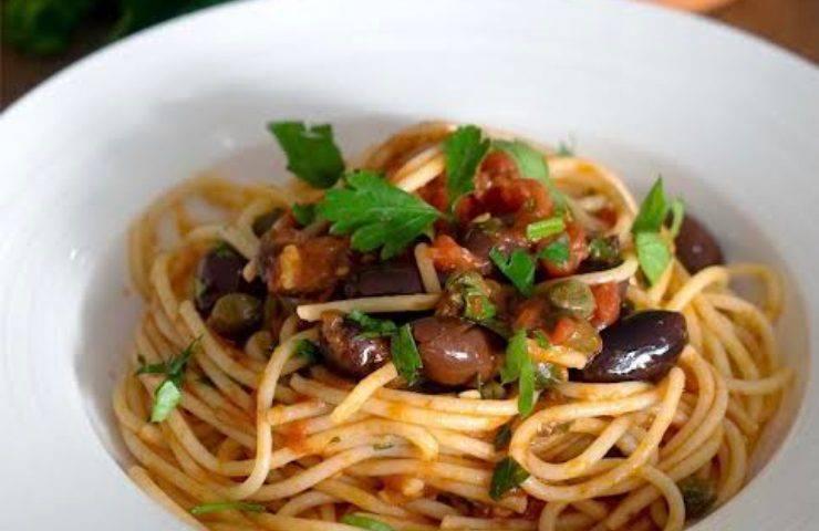 Spaghetti vesuviana