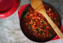 Stufato Marrakesh ceci melanzane ricetta