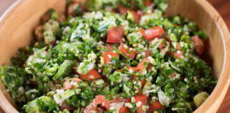 Tabbouleh con pomodori arrostiti ricetta