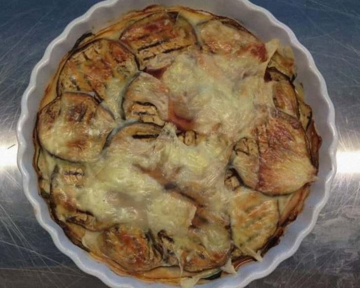 lasagna di verdure grigliate