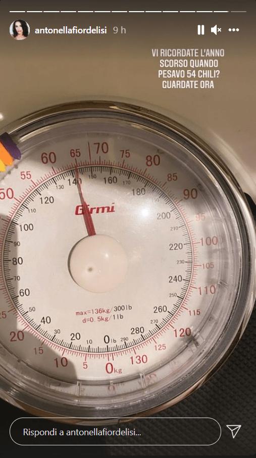 Antonella Fiordelisi +10 kg in un anno come ha fatto foto
