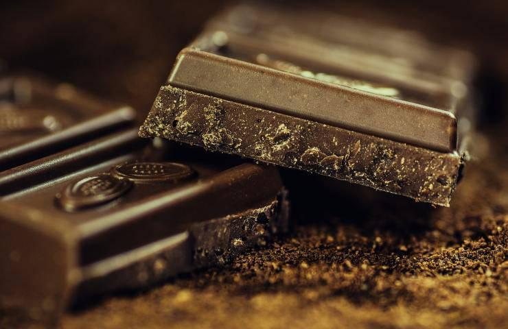 Cioccolato fondente proprietà dettagli
