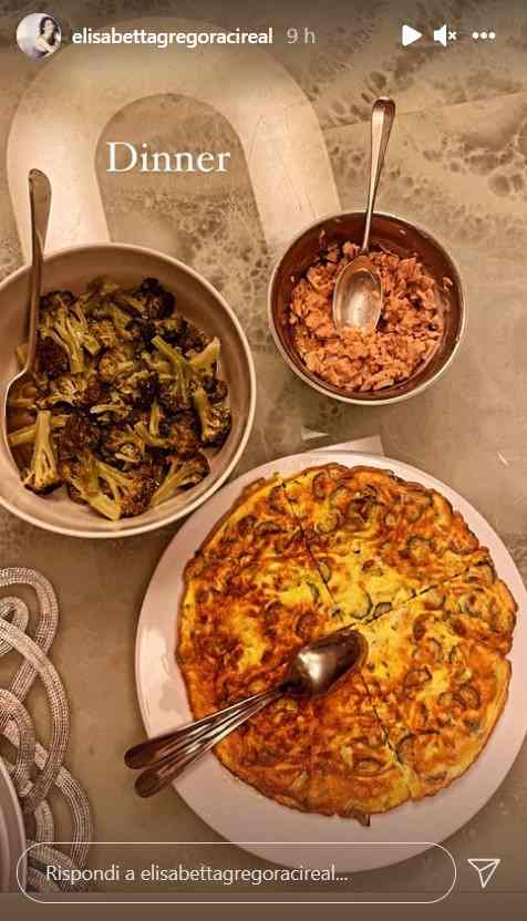 Elisabetta Gregoraci cena