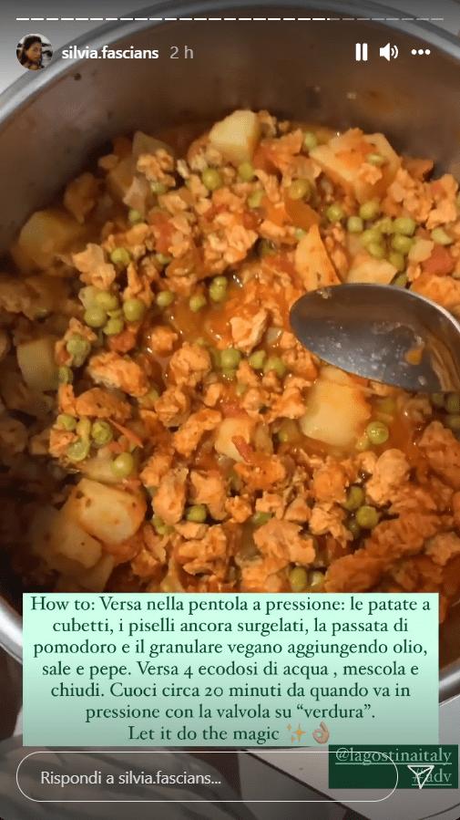 Spezzatino vegan con pentola a pressione ricetta super veloce