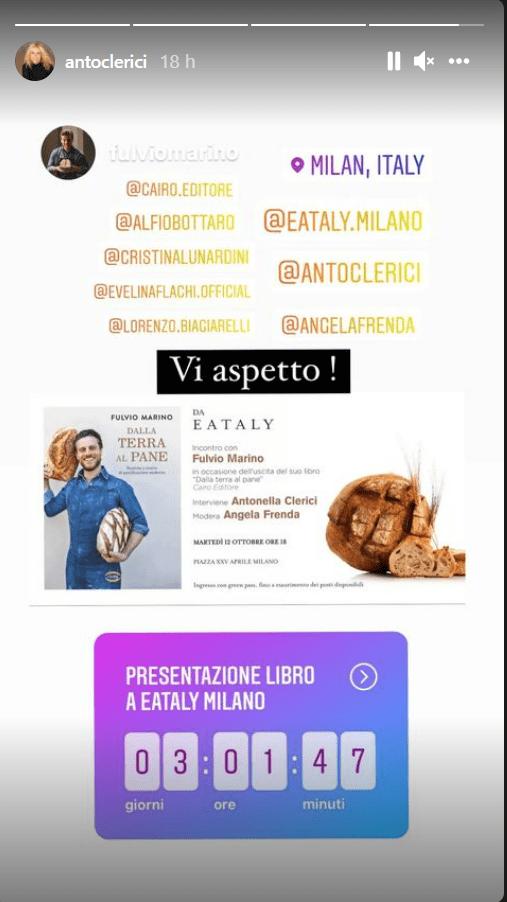 Antonella Clerici presentazione nuovo libro Fulvio Marino