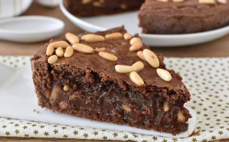 Torta del nonno al cioccolato ricetta facile