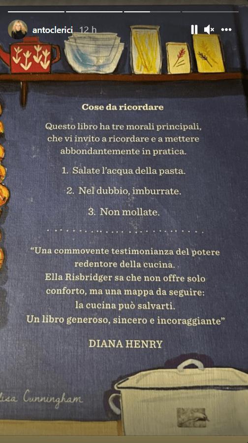 Antonella Clerici mantra tre insegnamenti da ricordare foto