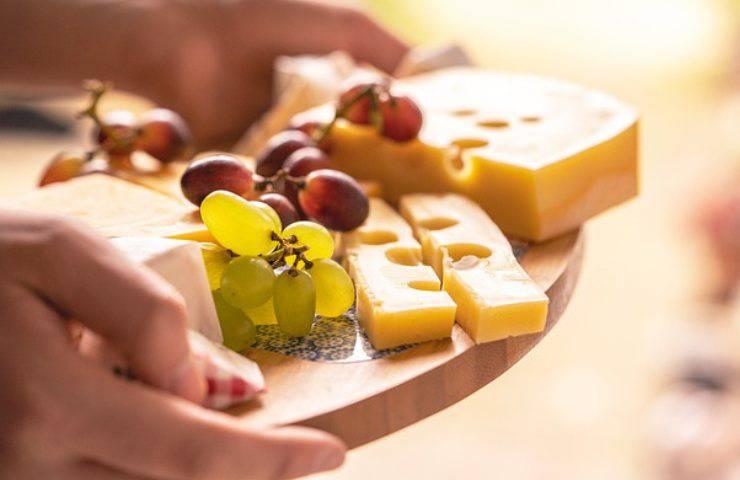 formaggi a fine pasto