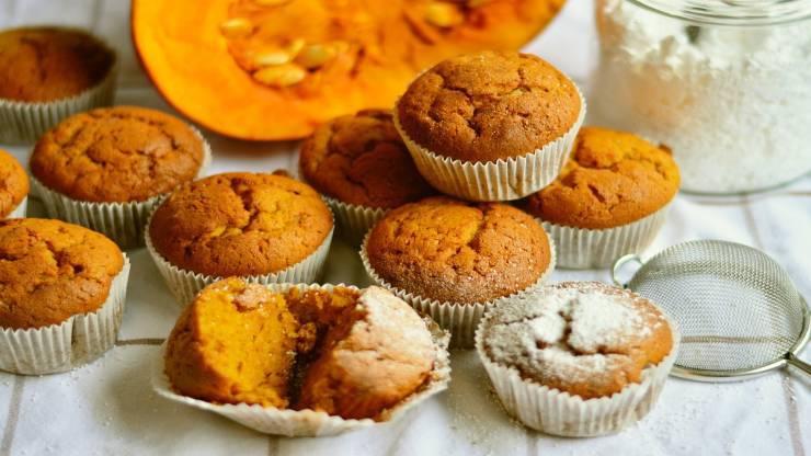 muffin zucca e mele