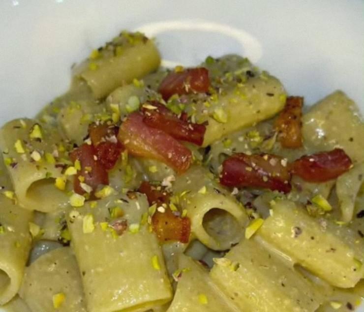 carbonara al pistacchio