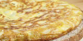 frittata patate senza uova